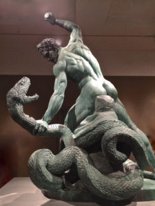 768 × 1024Images may be subject to copyright. Find out more Hercules Battling Achelous as Serpent (1824, Louvre)