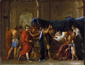 The Death of Germanicus (1627), Nicolas Poussin